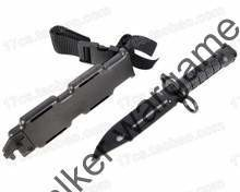 Plastic US Army M9 Bayonet , Rubber Knife