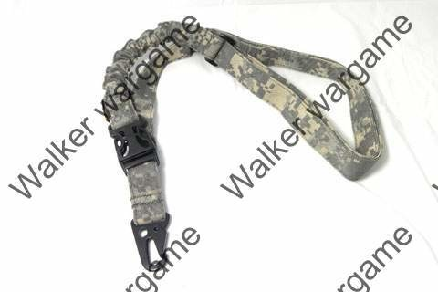 Tactical Single Point Rifle Sling - ACU Camo