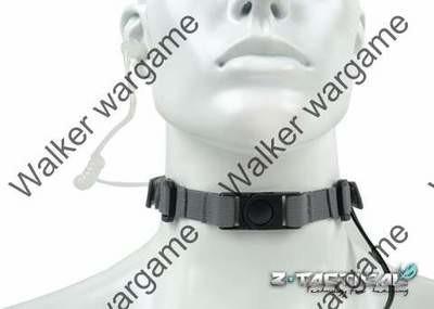 Tactical Tactical Throat Mic Headset - BL