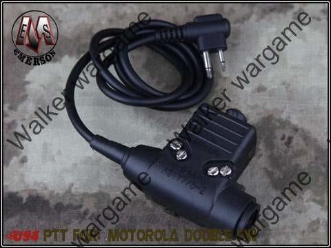 PTT (Push To Talk) Motorola 2 Pin - Ex113MD