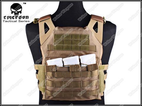 Tactical VT390 JPC Molle Vest Plate Carrier - Desert Tan