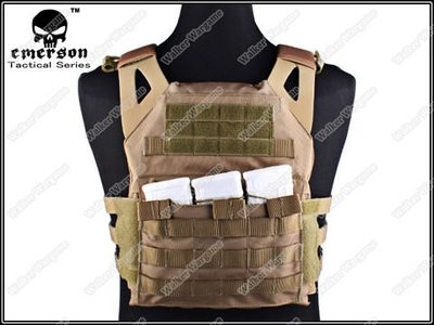 Tactical VT390 JPC Molle Vest Plate Carrier - Desert Tan