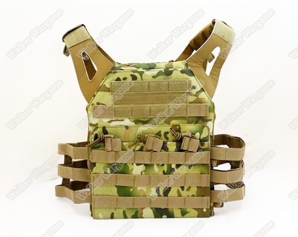 Tactical VT390 JPC Molle Vest Plate Carrier - Speical Force Multicamo