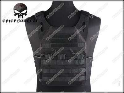 Tactical VT390 JPC Molle Vest Plate Carrier - SWAT Black