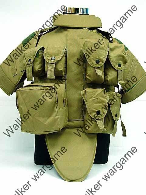 OTV Body Armor Molle Tactical Vest - Tan