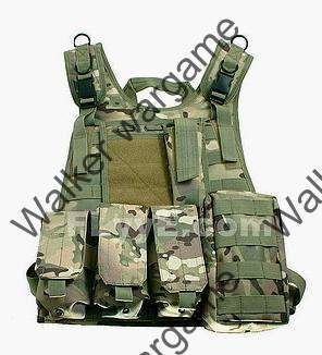 C2 Strike Molle Tactical Vest - Multi Camo