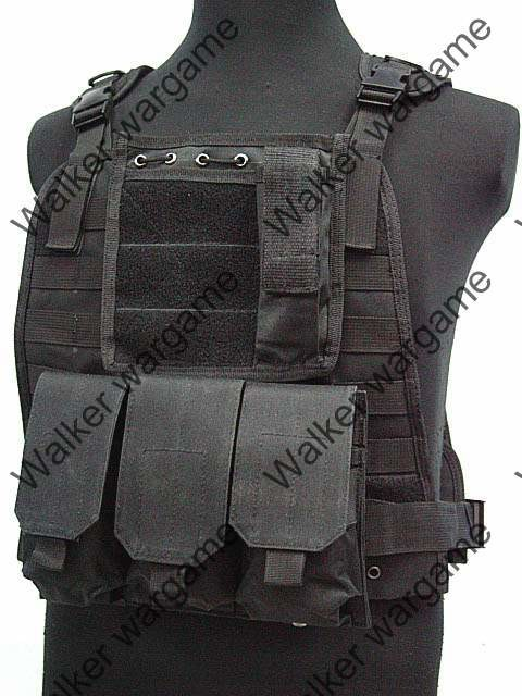 ​​C2 Strike Molle Tactical Vest - SWAT Black​