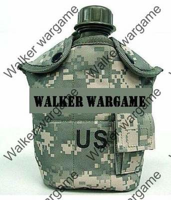1Qt Canteen Water Bottle w/Pouch & Cup - ACU