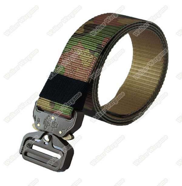 COBRA EDC Tactical Belt With Quick Release Buckle - Multi camo