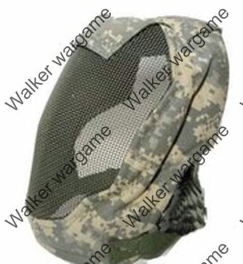 V3 Full Face Metal Mesh Mask - ACU