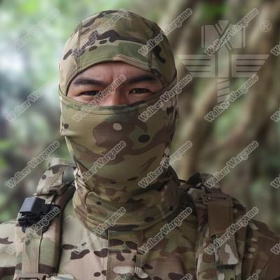 Balaclava Hood 1 Hole Head Face Mask - Multi camo