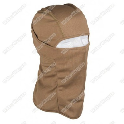 Balaclava Hood 1 Hole Head Face Mask - Desert Tan