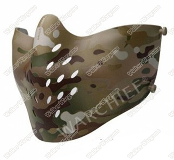 Warchief Lightweight M07 Tactical Half Face Combat Airsoft Mask - Special Force Multicam