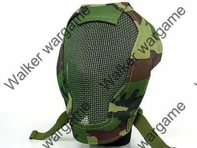 V3 Full Face Metal Mesh Mask Ver. 3 - Woodland