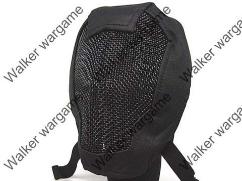 V3 Full Face Metal Mesh Mask - SWAT Black