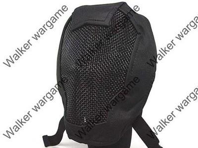 V3 Full Face Metal Mesh Mask - SWAT Black