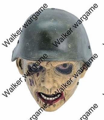 "Full Face Wire Mesh ""WAR II Zombie"" Mask"