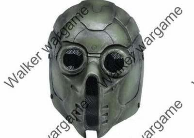 """Full Face Wire Mesh """"Green monster """" Mask"""