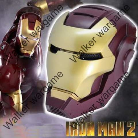 """Full Face Wire Mesh """"Iorn Man """" Mask"""