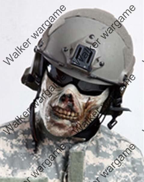 M05 Plastic Half Face Protector Mask - Vampire