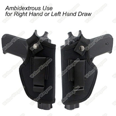 Ambidextrous IWB OWB Conceal Holster For Right and Left Hand Pistol Holster