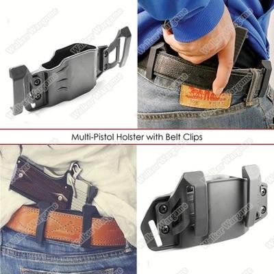 S&S PRECISION MULTI-PISTOL HOLSTER (MPH) W/ CLIPS
