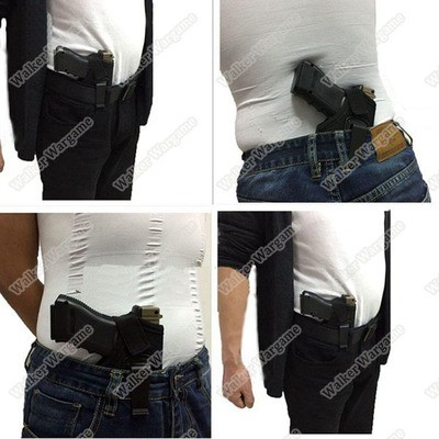 Inside Or Ourside The Waistband Holster , Conceal Belt Carry IWB Holster Fit Most Pistol