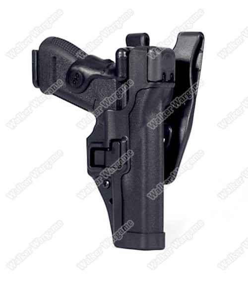 BWH Tactical Mid Ridge Level 3 Auto Lock Duty Holster