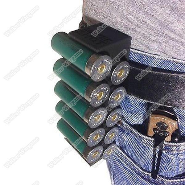 Tactical Molle Shotgun Shell Holster Holder Clip, Quick Load For Shotgun