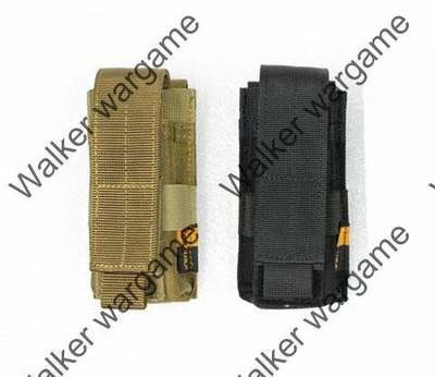WWG Molle Single Pistol 9mm 40sw .45acp Magazine Pouch (Also can fit Tourch)