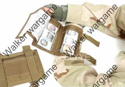 FLYYE Map Tactical Arm Band - Tan & Black