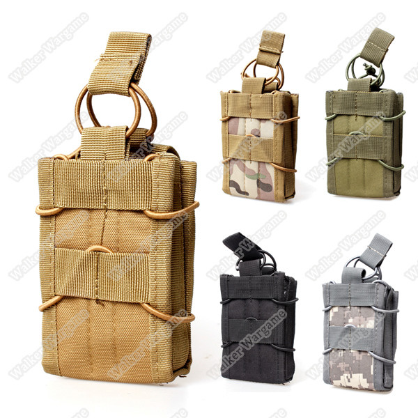 WWG Molle Bungee Rifle Mag Pouch Magazine Holder