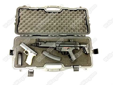 75CM Rifle Carrying Case With Foam - Lockable