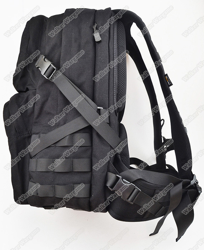 Twinfalcons Molle 25L Military Tactical Assault Backpack Waterproof Bag 1000D Cordura - Black