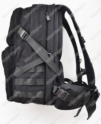 Twinfalcons Molle 25L Military Tactical Assault Backpack Waterproof Bag 1000D Cordura - Black