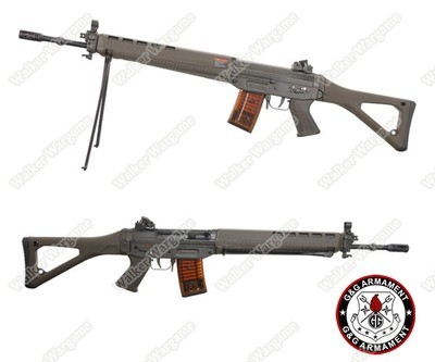 G&G SG550 SWISS ARMS Sig 550 Full Metal AEG With Bipod