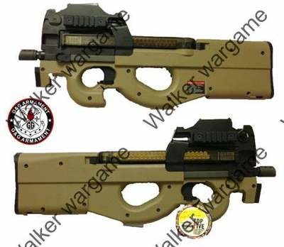 G&G P90 PDW99 Bullpup Design AEG - Build In Laser And Red Dot Sight
