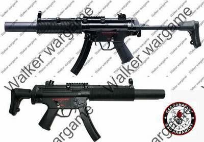 G&G Full Metal MP5 SD6 Airsoft Electric Sub Machine Gun AEG