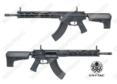 KRYTAC Full Metal Trident 47 SPR M-LOK Airsoft AEG Rifle - Black