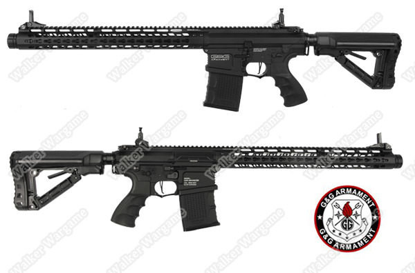 G&G TR16 MBR 308WH AEG Airsoft Rifle - Black (New G2 System,Build In ETU,MOSFET)