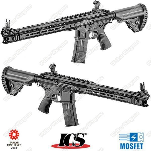 ICS Flag Ship Product CXP MARS Full Metal Komodo Airsoft AEG Electric Blowback - Black