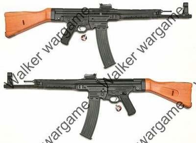 AGM WW2 German Sturmgewehr 44 MP44 Rifle Real Wood Full Metal Airsoft AEG