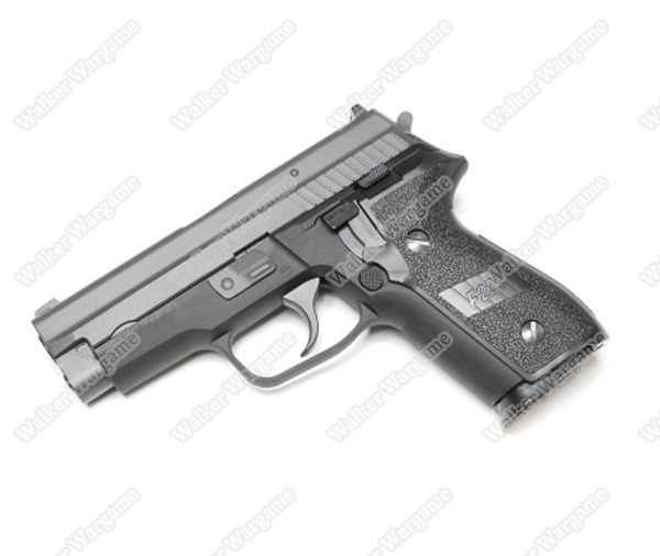 WE Tech Sig Sauer P229 Full Metal Green Gas Airsoft Gas Blow Back Pistol