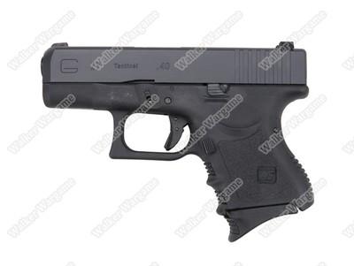 WE Tech Mini Subcompact Glock 27 Green Gas Blow Back Pistol - Black