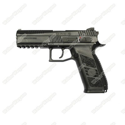 KJ Works CZ75 P09 Duty Airsoft CO2 Blow Back Pistol - Black