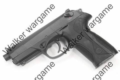 WE PX4 Bulldog Green Gas Blow Back Pistol Black