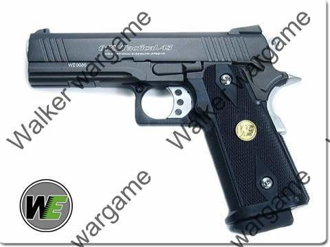 WE HI CAPA 4.3 OPS-Tactical Full Metal GBB Pistol - Black