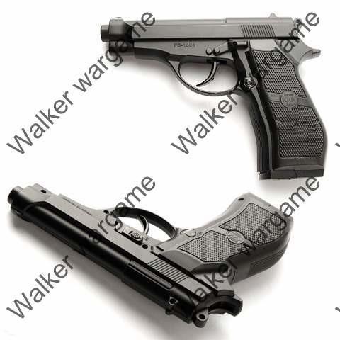 WG M84 Co2 4.5mm Cal.177 Pellet Self Defend Pistol - Full Metal