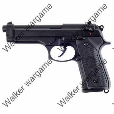 WE Beretta M9 Z88 Full Metal Green Gas Blow Back GBB Pistol New Version - Black