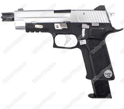 WE P-Virus Resident Evil Special Custom Sig P226 GBB Pistol